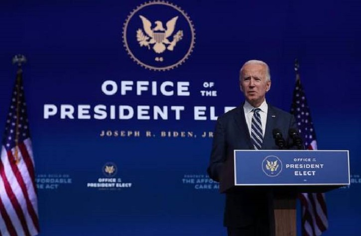 China sends 'congratulations' to Joe Biden on US election win