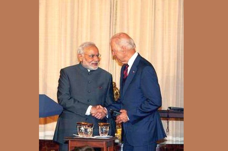 PM Modi speaks with U.S. President